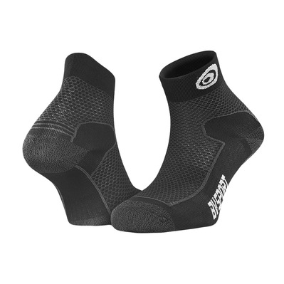 BV SPORT - DOUBLE POLYAMIDE EVO - Calcetines negro/gris