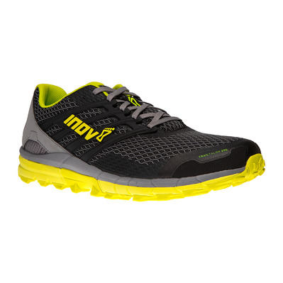 INOV 8 - TRAILTALON 290 - Chaussures trail Homme black/grey/yellow