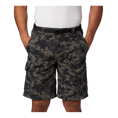 COLUMBIA - Silver Ridge Printed Cargo Short Homme Black Camo