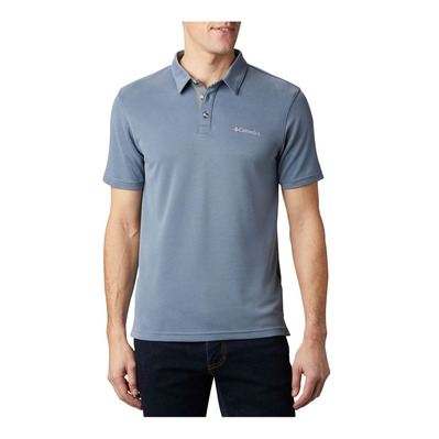 COLUMBIA - NELSON POINT - Polo Homme mountain