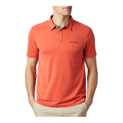 COLUMBIA - Nelson Point Polo Homme Wildfire