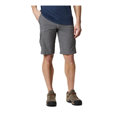 COLUMBIA - SILVER RIDGE II CARGO - Short hombre city grey