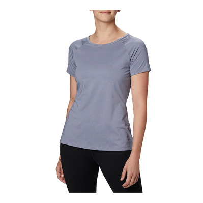 COLUMBIA - Peak To Point II SS Tee Femme New Moon Heather
