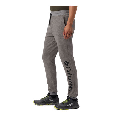 COLUMBIA - COLUMBIA LODGE DBL KNIT - Jogging Homme charcoal heather