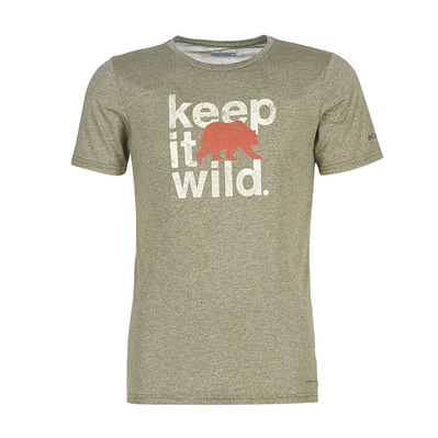 COLUMBIA - TERRA VALE II - Maillot Homme new olive heather keep it wild
