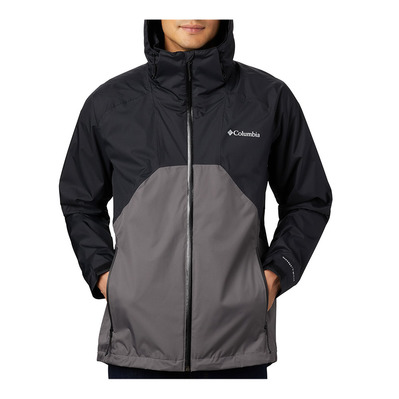 COLUMBIA - Rain Scape Jacket Homme Black, City Grey