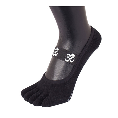 Toetoe YOGA&PILATES OM FOOT COVER - Chaussettes black