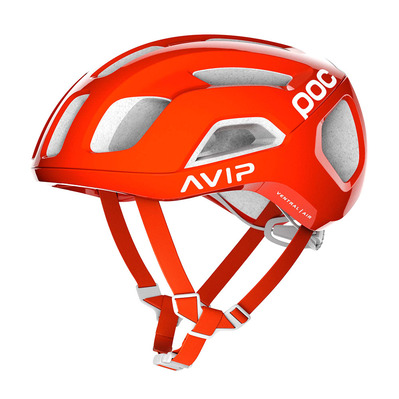 POC - VENTRAL AIR SPIN - Casque route zink orange avip