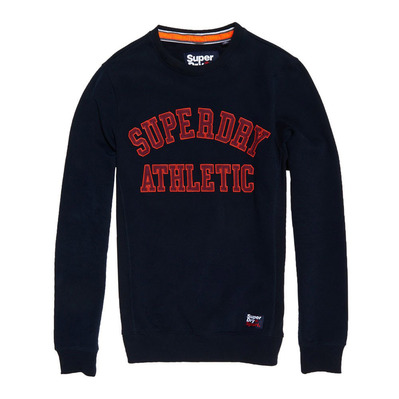 ACADEMY RIBBED - Sweat Homme academy navy