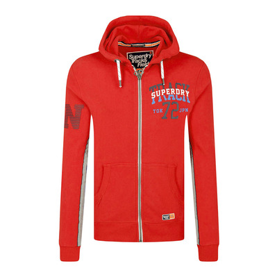 TRACK & FIELD LITE - Sweat Homme academy red