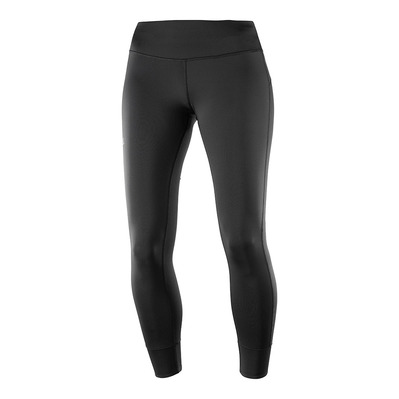 SALOMON - Pants COMET TECH LEG W BLACK Femme BLACK