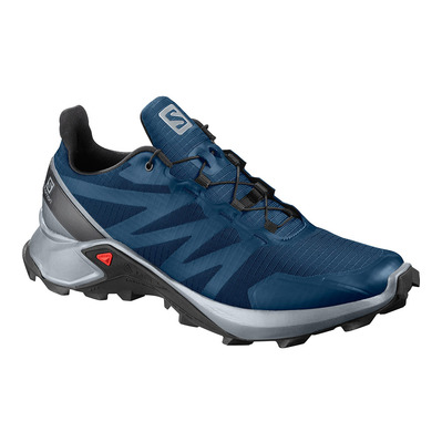 SALOMON - SUPERCROSS - Trailrunningschuhe Männer poseidon/pearl blue/black