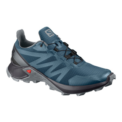 SALOMON - SUPERCROSS - Zapatillas de trail mujer mallard blue/black/monument