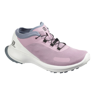 SALOMON - SENSE FEEL - Zapatillas de trail mujer mauve shadows/white/flint stone