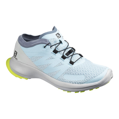 SALOMON - SENSE FLOW - Chaussures trail Femme angel fall/pearl blue