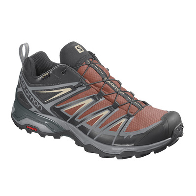 SALOMON - Shoes X ULTRA 3 GTX Burnt Bric/Bk/Bleach Homme Burnt Bric/Bk/Bleach