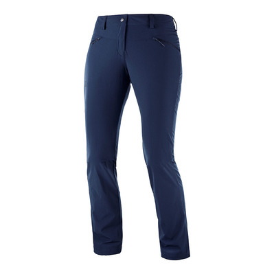 SALOMON - WAYFARER STRAIGHT LT - Pantaloni Donna night sky