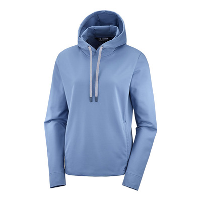 SALOMON - COMED MID - Hoody Frauen copen blue
