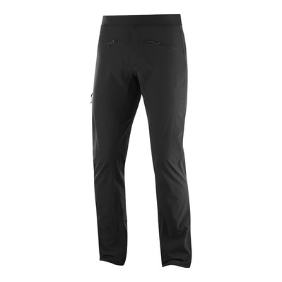SALOMON - WAYFARER ALPINE - Pantalon Homme black