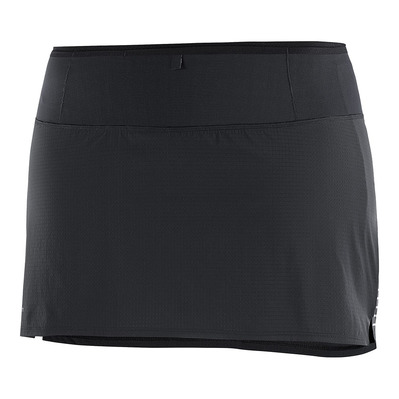 SALOMON - SENSE - Gonna-short Donna black