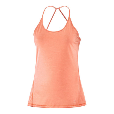 SALOMON - COMET - Débardeur Femme papaya/peach nectar/heather
