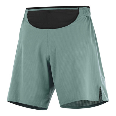 SALOMON - SENSE SHORT M Balsam Green Homme BALSAM GREEN