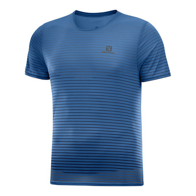 SALOMON - SENSE - Camiseta hombre poseidon/night sky