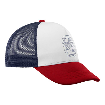 SALOMON - SUMMER LOGO - Casquette white/goji berry