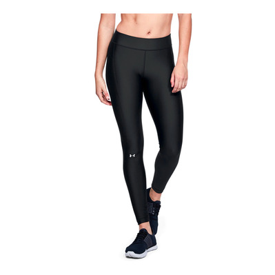 UNDER ARMOUR - UA HG - Legging Donna black/black/metallic silver