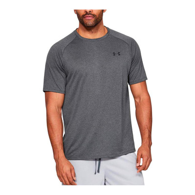 UNDER ARMOUR - TECH™ 2,0 - T-shirt Uomo carbon heather/black