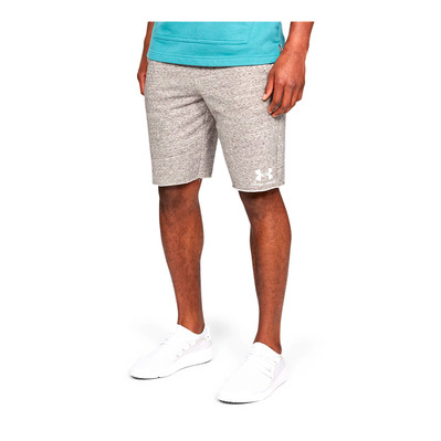 UNDER ARMOUR - SPORTSTYLE TERRY SHORT-WHT Homme Onyx White/Onyx White