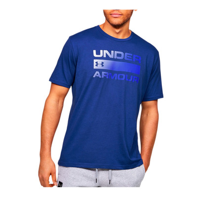 UNDER ARMOUR - TEAM ISSUE - T-shirt Uomo american blue/versa blue