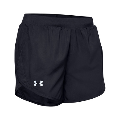UNDER ARMOUR - UA FLY-BY 2.0 - Short Femme black/black/reflective