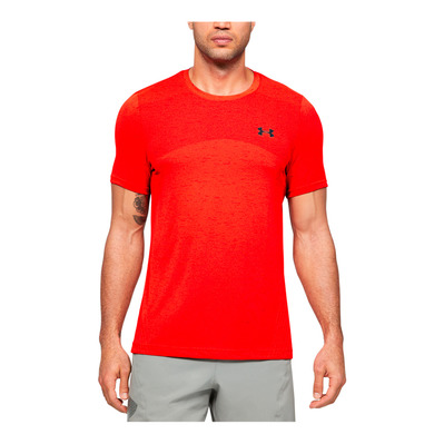 UNDER ARMOUR - SEAMLESS - T-shirt Uomo beta/black