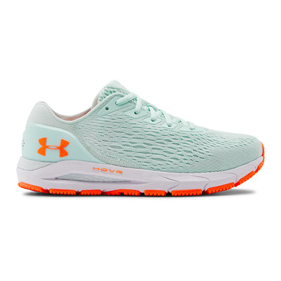 UNDER ARMOUR - UA W HOVR Sonic 3-BLU Femme Rift Blue/White/Orange Spark