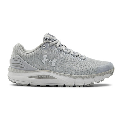 UNDER ARMOUR - UA W Charged Intake 4-GRY Femme Halo Gray/White/White