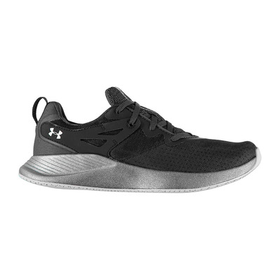 UNDER ARMOUR - CHARGED BREATHE - Chaussures training Femme jet gray/jet gray/halo gray