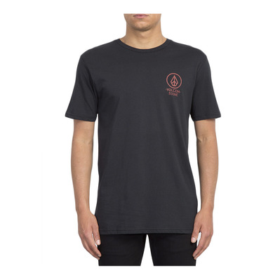 CROWD CONTROL - Tee-shirt Homme black