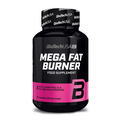 MEGA FAT BURNER - Pot de 90 comprimés neutre