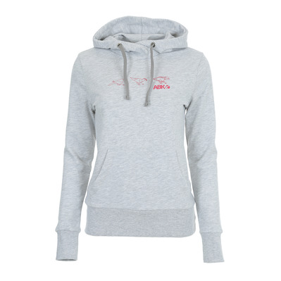 ABK FLY - Sweat Femme heather light grey
