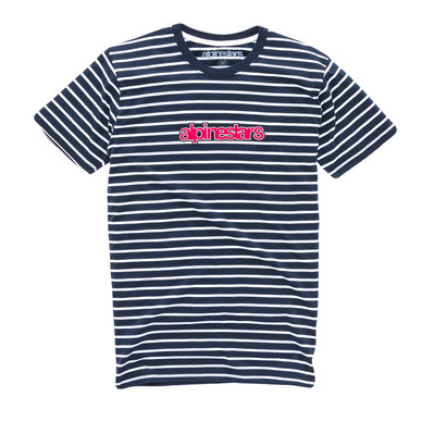 NOTED PREMIUM - Tee-shirt Homme navy/white