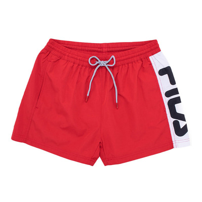 687205 - Short de bain  Homme true red/bright white