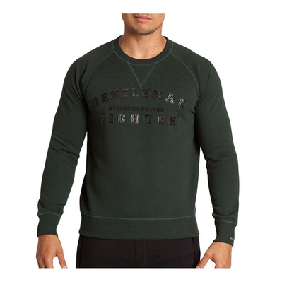 Gentleman Fighter AUTENTICO - Sweat Homme vert