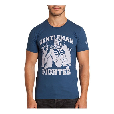 Gentleman Fighter HERO - Tee-shirt Homme bleu