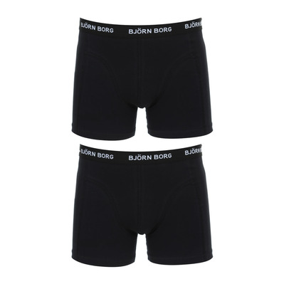 SOLID - Boxers x2 Homme black beauty