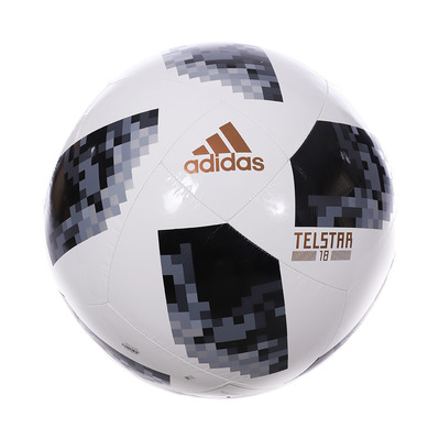WORLD CUP JUMBO - Ballon football black/white