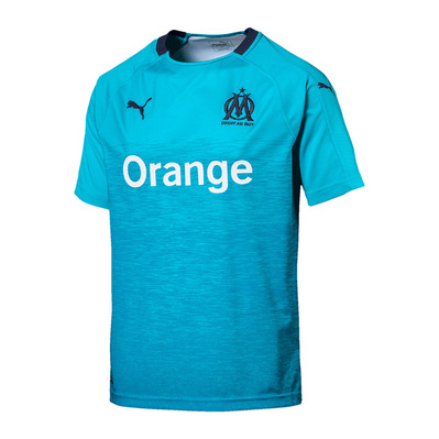 OM REPLICA THIRD 18/19 - Maillot Homme nrgy turquoise/peacoat