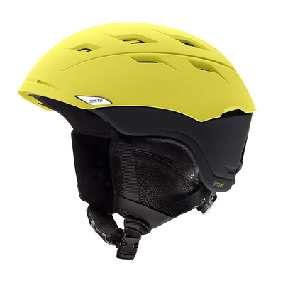 SEQUEL - Casque ski matte citron black