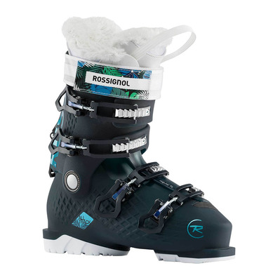 ALL TRACK 70 W - Chaussures ski Femme black/blue