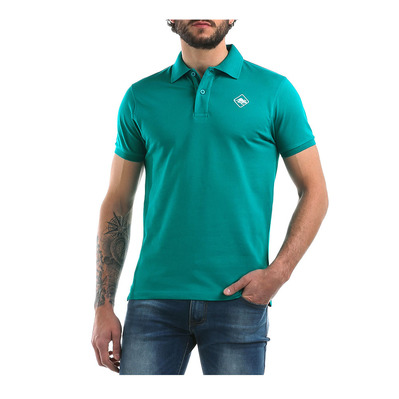 E15 - Polo Homme tropical green